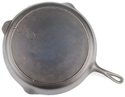 Vintage 3-Notched Lodge No 14 (US) Cast Iron Skillet Restored Condition