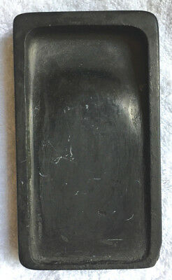 Vintage Chinese Scholar's Calligraphy Ink Stone