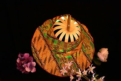 Vintage Fold and Carry Bamboo Sun Hat