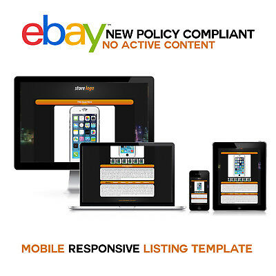 New eBay Unique Store Templates and Listing Auction Free Setup Within 24 Hrs