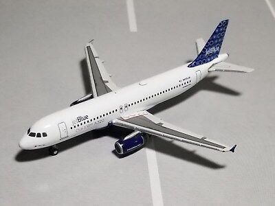 """Gemini Jets Jetblue """"one Hundred"""" A320-200 1:400 Scale Diecast Metal Model"""
