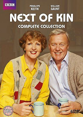 NEXT OF KIN Classic Penelope Keith BBC Comedy Series Complete R2 PAL DVDs only!!