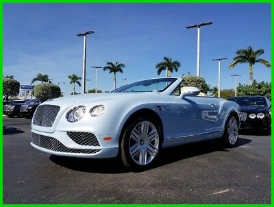 2016 Bentley Continental GT W12