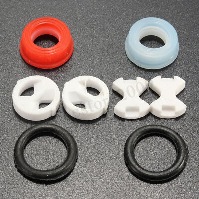 Set of Replacement ceramic disc silicon washer insert turn 1/2'' for valve Tap /