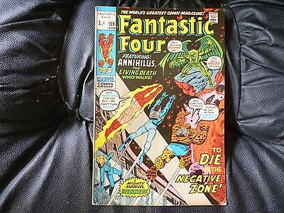 Fantastic Four # 109 nice condition