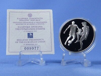 Griechenland 10 Euro 2004 , Olympiade Athen , Silber *PP/Proof* (414)