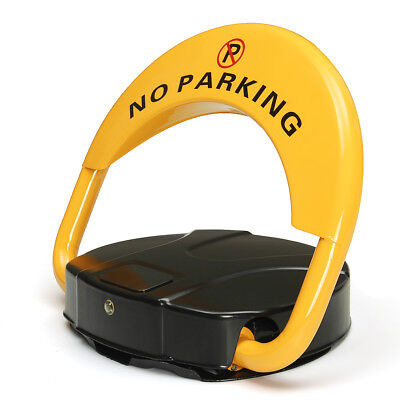 Steel Private Parking Space Lock with Locked Remote Control Anti-Pilfer Tool
