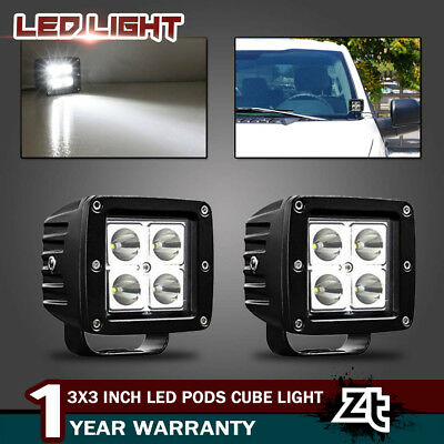 40w led pods cube lamp w/ a-pillar mount for 15-up ford