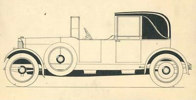1917 Benz Styling Artwork Photo John Jay Ide ua2337-W2RH1X
