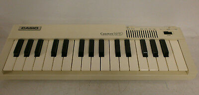 Portable Casiotone M10 Electronic Musical Instrument in Carrying Bag.