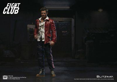 Pre-Owned Blitzway Fight Club:Brad Pitt 1/6 Action Figure from Japan F/S