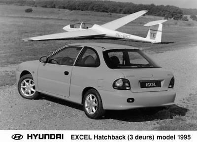 1995 Hyundai Excel Hatchback Factory Photo Korea ua3400-N3BUMB