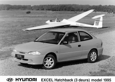 1995 Hyundai Excel Hatchback Factory Photo Korea ua3401-T8PZJA