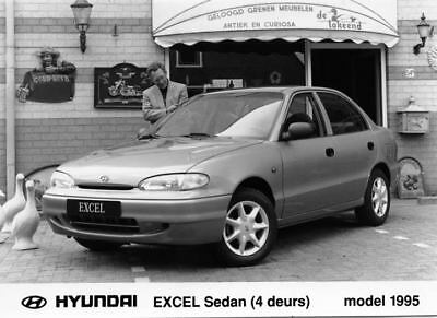 1995 Hyundai Excel Sedan Factory Photo Korea ua3403-RXAWQS