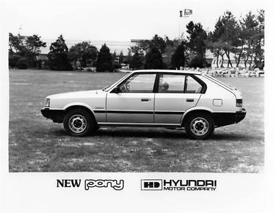 1983 Hyundai Pony Factory Photo Korea ua3422-4NZG7Y
