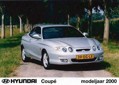 2000 Hyundai Tiburon Coupe Factory Photo Korea ua3426-K9H5W6