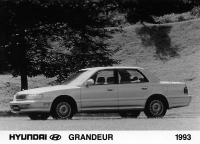 1993 Hyundai Grandeur Factory Photo Korea ua3446-OZ6UA9