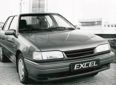 1990 Hyundai Excel Factory Photo Korea ua3462-RN9GP3