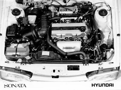 1989 Hyundai Sonata Engine Factory Photo Korea ua3476-YZ9IIJ