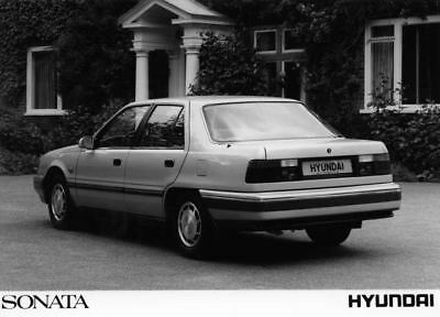 1989 Hyundai Sonata Factory Photo Korea ua3477-GQ891W