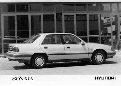 1989 Hyundai Sonata Factory Photo Korea ua3480-AKTYQB
