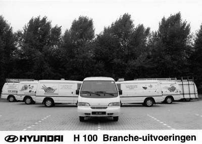 1995 Hyundai H100 Van Factory Photo Korea ua3492-QPNJXP