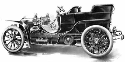 1905 ? American Mercedes 40 45 HP Factory Photo ua3709-QWK7LJ