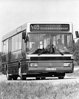 1985 Mercedes Benz O 405 Service Bus Factory Photo ua3743-RYS21W