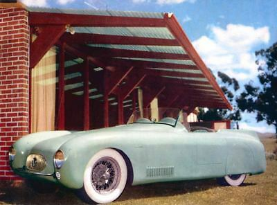 1952 MG Wright Fiberglass Kit Car Factory Photo ua3985-RO2B6D