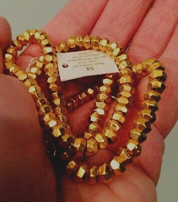 Vtg NWT Metropolitan Museum of Art Gold Plate Necklace ~ Original MMA Tag