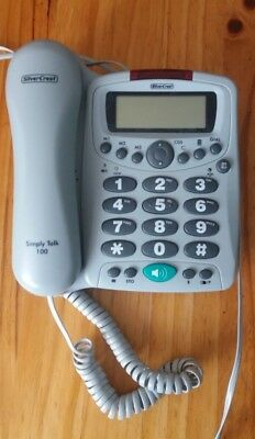 Comfort Telephone-Extra Large Buttons- Hearing Aid Compatible