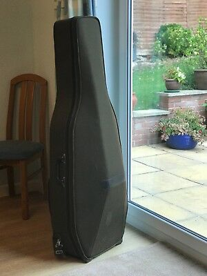 Vintage Full Size Lightweight Fawn-coloured Hill Cello Case