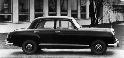 1957 Mercedes 219 Factory Photo ua4474-DARVCZ
