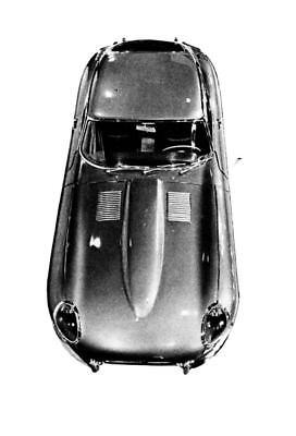 1961 Jaguar XKE Coupe Factory Photo ua4546-GN9CNS