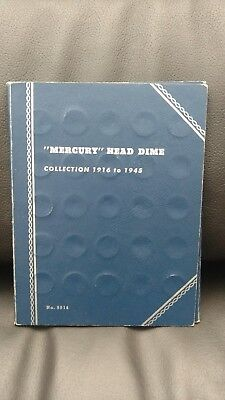 Mercury Head Dime Collection (63 Coins)