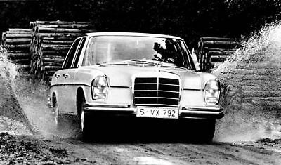 1966 Mercedes Benz Factory Photo ua4852-P5U51A