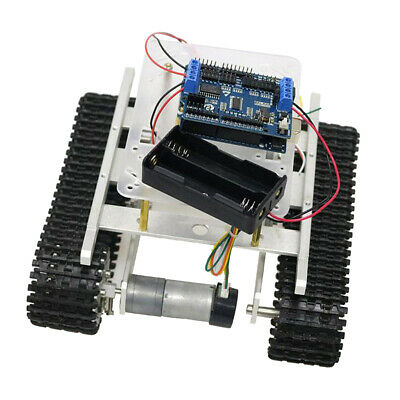 Arduino + WiFi Control Robot Smart Tank Chassis Kit Car Light Shock Absorbed