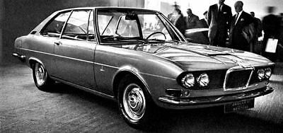 1967 Jaguar 3.8S FT Bertone Concept Factory Photo ua4957-N65ZCX