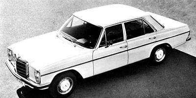 1969 Mercedes Benz 250 Sedan Factory Photo ua5082-3KTYVK