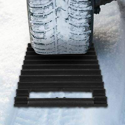 2 In 1 Car Ice Scraper & Traction Mat Emergency Snow Ice Mud Sand Rescue Mat