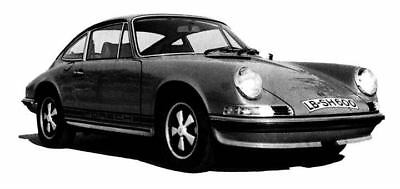 1972 Porsche 911 Factory Photo ua5321-8JRN5Q