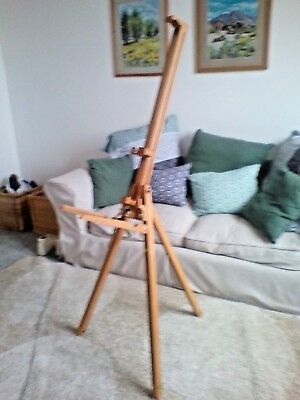 Daler Rowney Wooden Artists Easel Folding/extendable legs - Painting drawing