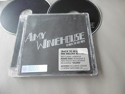 Amy Winehouse Back To Black Deluxe Special Edition 2 Cd Rehab Valerie Tears Dry
