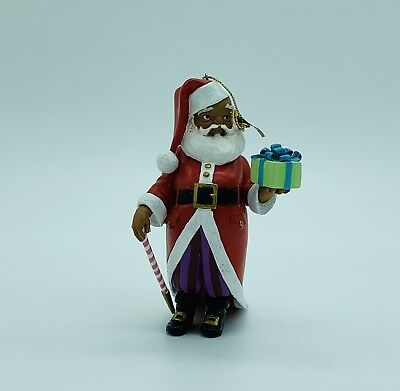 Lenox, Thomas Blackshear Ebony Visions 2013 Annual Ornament Mr. Claus, Retired