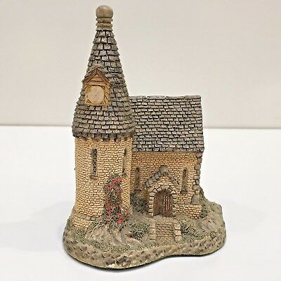 """David Winter """"THE CHAPEL"""" Building Handcrafted Signed 1984 Hines Studios England"""