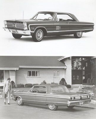 1966 Plymouth Sport Fury Factory Photo ua7439
