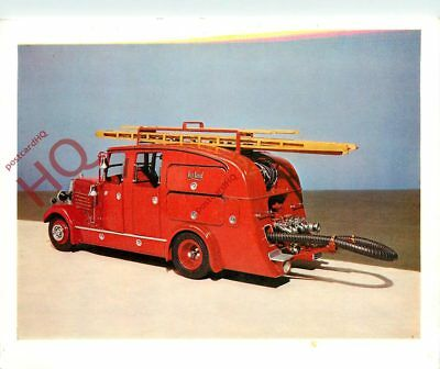 Picture Postcard; FIRE ENGINE, 1936 [SCIENCE MUSEUM]