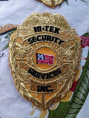 Security Gold Badge patch