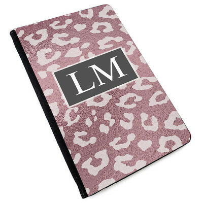 Personalised INITIALS MARBLE Printed PU Leather Passport Cover -177