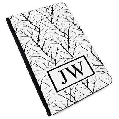 Personalised INITIALS MARBLE Printed PU Leather Passport Cover -173